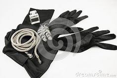 Elegant Long Black Gloves - Download From Over 46 Million High Quality Stock Photos, Images, Vectors. Sign up for FREE today. Image: 74688502