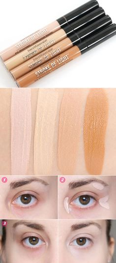 #SEPHORA :: BareMinerals Stroke of Light Eye Brightener :: $22 | Available at Sephora, ULTA, Macy's, QVC :: I've been looking for an eye brightening concealer & this one has fabulous reviews. Luminous #2 looks like the perfect shade for me.