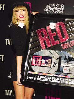#BURNINGRED I'm using #BURNINGRED for the reasons that burn red of why we're proud of Taylor.