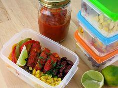 Koche für die Woche - Fajita Pfanne