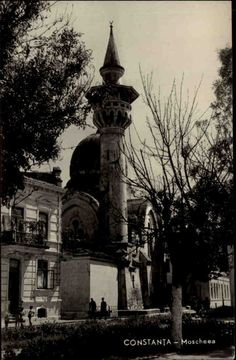 Constanța Rumänien 1961 Konstanza Moschee Moscheea Mosque Turm Menschen Bauwerk | eBay