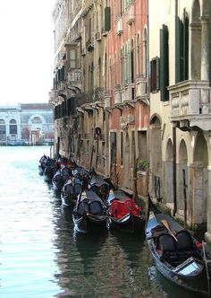 Ride Gondolas in Venice
