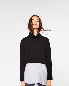 Image 2 of CONTRAST FULL TOP from Zara