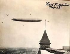 Oak Park, Zeppelin, Illinois, Electric, Chicago, History, Architecture, Arquitetura, Historia