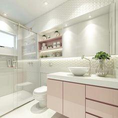 Total clean nesse banheiro lacrador com renderização perfeita da minha amiga Carol @carolcantelli_interiores e aí gostaram??? #decoredecor #grupojsmais #somosconteudo_