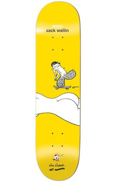 Enjoi Wallin Don't Be A Dick 8.0 R7 Skateboard Deck - Skate Shop > Decks > Skateboard Decks