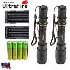 2 Sets 8000 Lumens 5Modes Ultrafire...