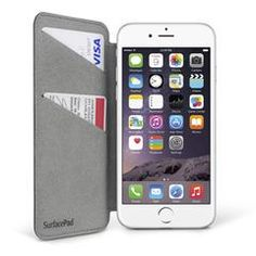 SurfacePad for iPhone 6 and 6 Plus. Thin and light folio cover, doubles as a hands free stand Iphone 6, Ipad, Hands, Cover, Free, Blanket
