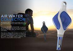 AIR WATER COLLECTOR by Tong-Shang, Teng-Wen Hu, Jie-Yu Jiang, Zi-Shuo Fang, Chi Cheng & Xiao-Neng Jin » Yanko Design