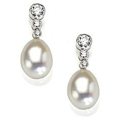 Pearl And Diamond Earrings Uk See More Stunning Jewelry At Stellarpieces