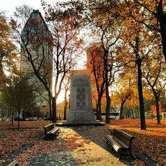 Square Dorchester #Montreal