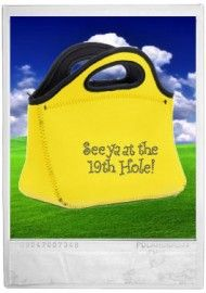 See Ya At The 19th Hole Lunch Tote @USHoleInOne 19th Hole, Gifts For Golfers, Lunch Tote