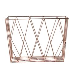 Bloomingville Square Storage Basket - Copper