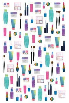 化粧品のポストカード - nozonozonozono