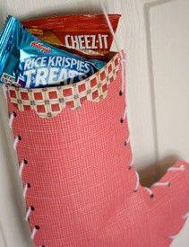 Christmas Stocking Kid Craft