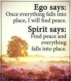 Listen to the spirit