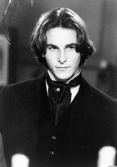 I have the biggest crush on this character - Laurie #LittleWomen Christian Bale <3