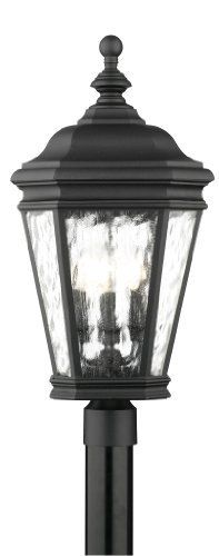 Thomas Lighting M5115-7 Astoria Four-Light Outdoor Post Lantern, Matte Black by Thomas Lighting. $117.97. From the Manufacturer                Thomas Lighting established in 1919 is known for it's style and quality, the Astoria Exterior Collection offers a variety of sizes in this decorative exterior collection. With a hinged-door for easy re-lamping, die-cast aluminum body, water seedy glass panels and decorative scroll-work it will add an element of design to...