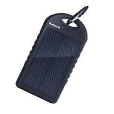 Nekteck Solar Charger 12000mAh Rainresistant DirtShockproof Dual USB Port Portable Charger Battery Backup Power Pack for All USB Supported Devices Black ** You can find more details by visiting the image link-affiliate link. #SolarChargers