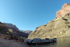 2014 Hatch Expedition rafting Colorado River thru Grand Canyon - getting ready to board our boat