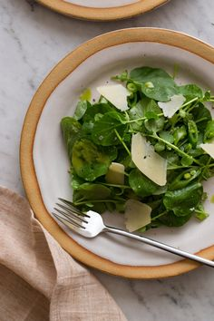 Watercress Salad with Green Apple Vinaigrette | Spoon Fork Bacon
