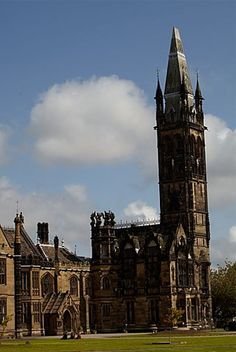 Scarisbrick Hall, England, designed by Augustus Pugin, thought to be the blue print for Big Ben