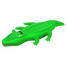 Crocodilo insuflável! Para animar os dias de verão.