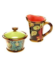 Look at this #zulilyfind! Eden Ranch Sugar & Creamer Set #zulilyfinds