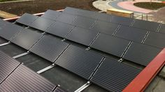 Lot's of solar energy panels!