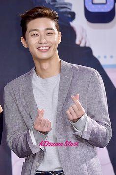 park seo joon | Park Seo Joon at a Press Conference of MBC Drama 'She Was Pretty ...