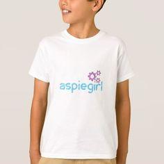 #Aspiegirl Woman with Aspergers T-Shirt - #autism #tshirts #autistic #awareness #autismpride