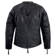 Harley Women's Misty Willow Leather Jacket