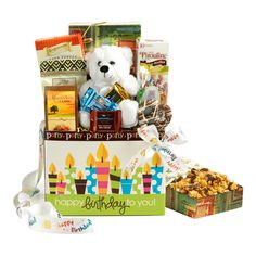 Holiday delight gluten free gift tower mishloachmanot happy birthday gift basket negle Image collections
