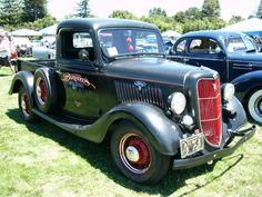 ford pickup trucks | 1935 Ford V8 pickup truck by RoadTripDog