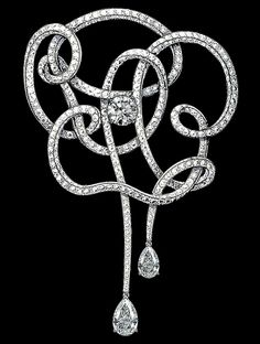 54aa3503c08 A deconstructed camellia brooch from Chanel Fine Jewelry. Notice their  subtle