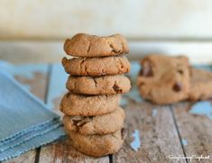 Gluten Free Chocolate Chip Cookies Recipe *Can be Made with Yacon Syrup #glutenfree #grainfree #yacon
