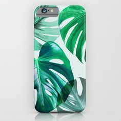 Monstera 1 by Mareike Böhmer @society6 #palm #leaves #watercolor #green #plants #nature #case #phonecase #phone #iphone #apple #products #samsung #galaxy #products #products #chic #fashion #style #gift #idea #society6 #design #shop #shopping #buy #sale #fun #accessory #accessories #art #contemporary #cool #hip #awesome  #sweet