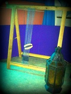 DIY weaving loom