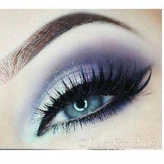 Beautiful Eye Makeup, Natural Eye Makeup, Eye Makeup Tips, Gorgeous Eyes, Makeup Ideas, Easy Makeup, Makeup Tutorials, Makeup Trends, Makeup Art