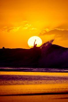 Into the sun. Photo: Brent Bielmann