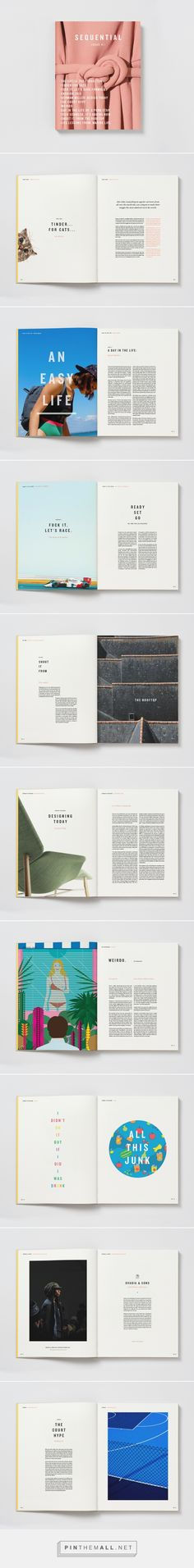 Sequential Magazine on Behance - created via https://pinthemall.net