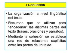 Cohesión Writing Tips, Literature, Spanish Teaching Resources