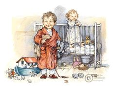 Shirley Hughes  - inspired contest 1950 s vintage illustration