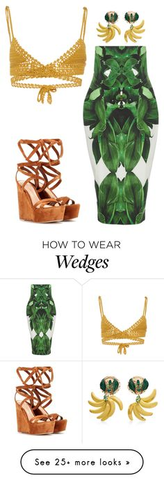 """""""Untitled #5193"""" by stylistbyair on Polyvore featuring SHE MADE ME, Dolce&Gabbana and Gianvito Rossi"""