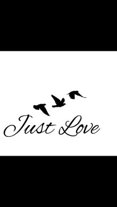 Tattoo, just love for my family. The birds for freedom. ♡