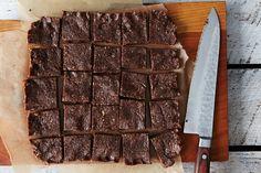 Raw Vegan Chocolate Coconut Bars, a recipe on Food52
