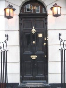 221b Baker Street  Author of the Sherlock Holmes' novels Arthur Conan Doyle thought he was being clever when he created 221 Baker Street in London, as the door numbers only ran to 85. However, in the 1930′s the door numbers on the street were all renumbered, and 221 became the Abbey Society premises. In 1990, a Sherlock Holmes museum was opened on the street at number 237, and was granted special dispensation by the local council to change the number to 221b.