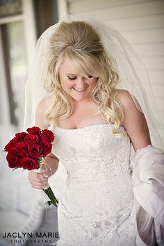 Bridal Hair #hair bump