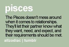 Pisces relationships