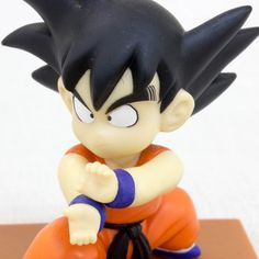 Dragon Ball Z Son Gokou Boy Figure Memo Stand banpresto JAPAN ANIME